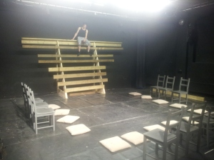 Rehearsal set...