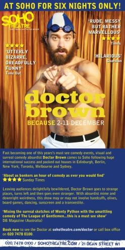 DR BROWN SOHO FLIER